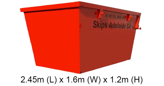 4m mini skip bins