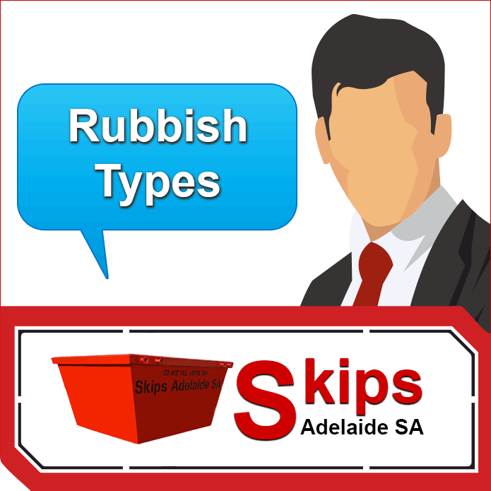 5 Rubbish Types Available