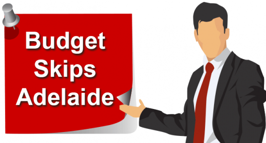 Budget Skips Adelaide